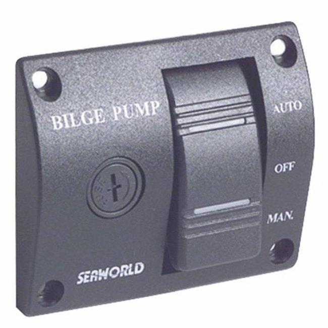 12V Bilge Pump Switch Panel
