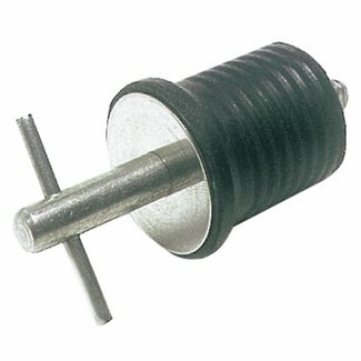 Pirates Cave Value Stainless Steel Drain Plug/Bung 22mm