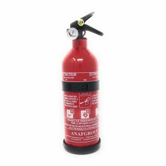Osculati Fire Extinguisher 1kg Powder with Guage 5A 34B