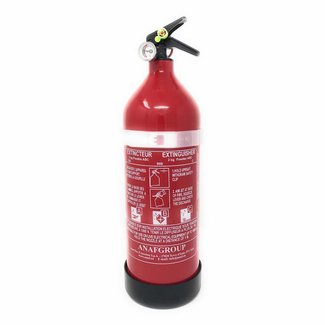 Osculati Fire Extinguisher 2kg Powder with Guage 13A 89B