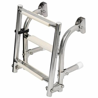 Osculati Folding Boarding Ladder Stainless 316