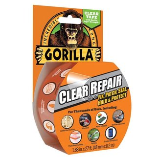 Gorilla Gorilla Clear Waterproof Repair Tape 8.2m