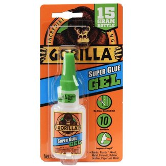 Gorilla Gorilla Super Glue Gel 15g
