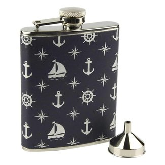 Nauticalia Nautical Hip Flask