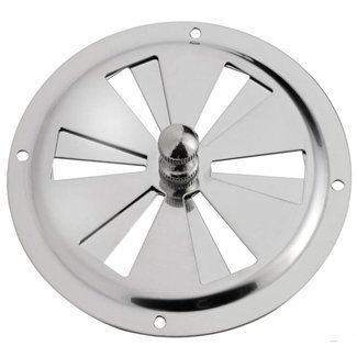 Pirates Cave Value Butterfly Ventilator 316 Polished Stainless Steel