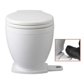 Jabsco Jabsco Lite Flush Electric Toilet 2018 (with Foot Switch) 12/24V
