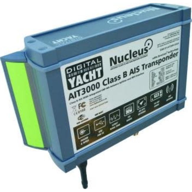 Digital Yacht Digital Yacht AIT3000 Nucleus Class B Transponder (Supplied with GPS Antenna)