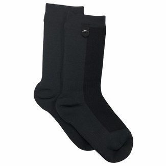 Sealskinz Sealskinz Hiking Sock Mid Weight Mid Length - Black / Anthracite