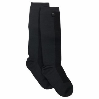 Sealskinz Sealskinz Hiking Sock Mid Weight Knee Length - Black / Anthracite