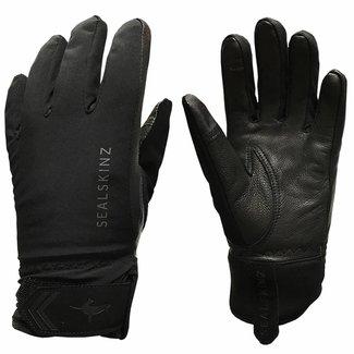 Sealskinz Sealskinz 2019 Womens All Season Gloves Black / Charcoal