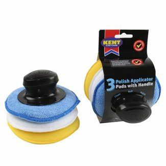 Pirates Cave Value Polish Applicator Pads - Pack Of 3