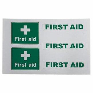 Nauticalia Nauticalia First Aid Label (Small) Sticker