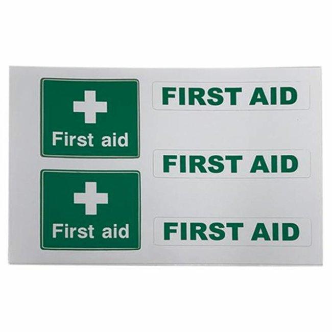 Nauticalia First Aid Label (Small) Sticker