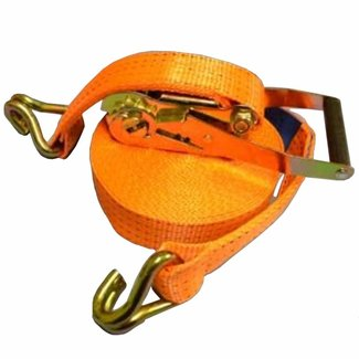 Pirates Cave Value Load Securing Strap 50mm 5000kg rating with Claw Hooks