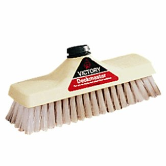 Pirates Cave Value Deck Scrub Brush Head 9 Inch Polypropylene