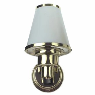 Pirates Cave Value Brass Wall Cabin Light 12V