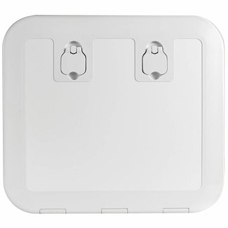 Pirates Cave Value Flush Inspection Hatch White 520 x 465 (Cut 445 x 390)
