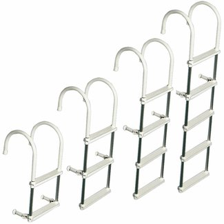 Osculati Plastic & Aluminium Anti Slip Boarding Ladder