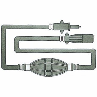 Pirates Cave Value Mercury Fuel Line Kit with Primer Bulb 3m Hose for Engines up to 1987