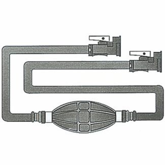 Pirates Cave Value Yamaha Fuel Line Kit with Primer Bulb 3m Hose for Engines after 1987