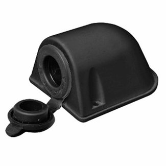 Pirates Cave Value Surface Mount Cigar 12v Socket Black Only