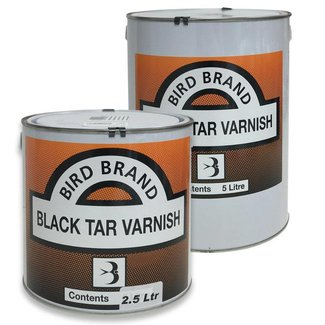 Bird Brand New Formula Black Tar Varnish