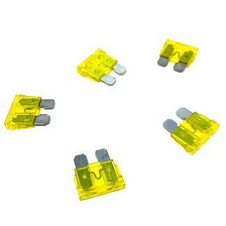 Pirates Cave Value Blade Fuses Large 20 amp Pack of 5
