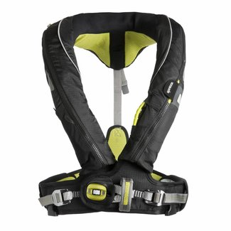 Spinlock Spinlock Deckvest 5D Life Jacket, 170N Hammar with Harness Gun Metal/Black