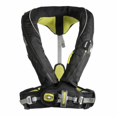 Spinlock Spinlock Deckvest 5D Lifejacket, 170N Hammar with Harness Gun Metal/Black