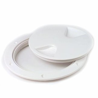 Waterproof Inspection Hatch White 8""