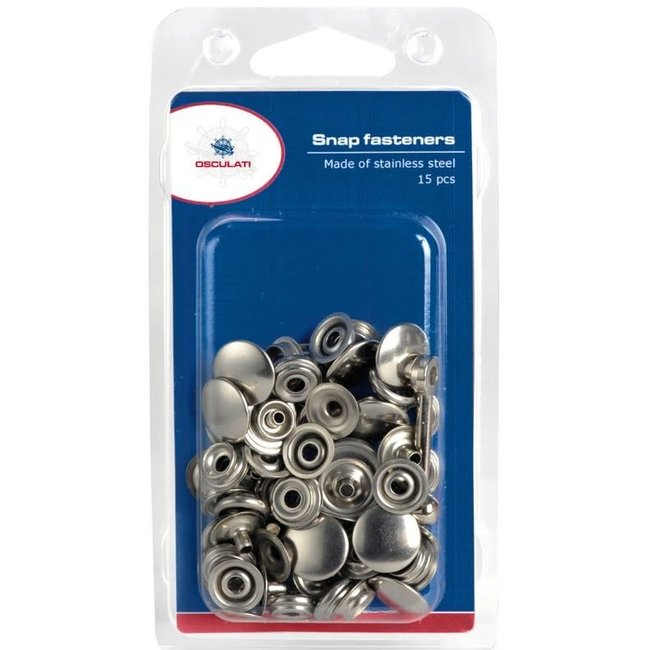 Stainless Steel Press Stud Kit