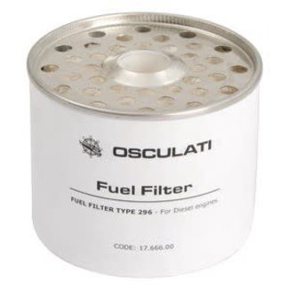 Pirates Cave Value Diesel Fuel Filter Cartridge For Use in CAV Type 296 (Delphi Replacement)