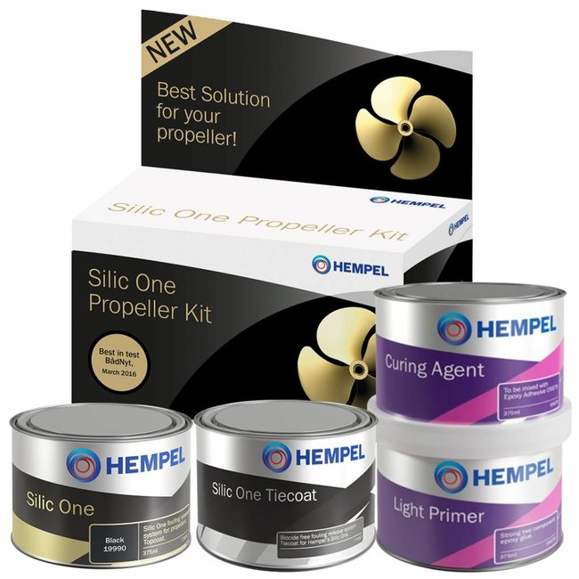 Hempel Prop Kit Silic One Black 750ML