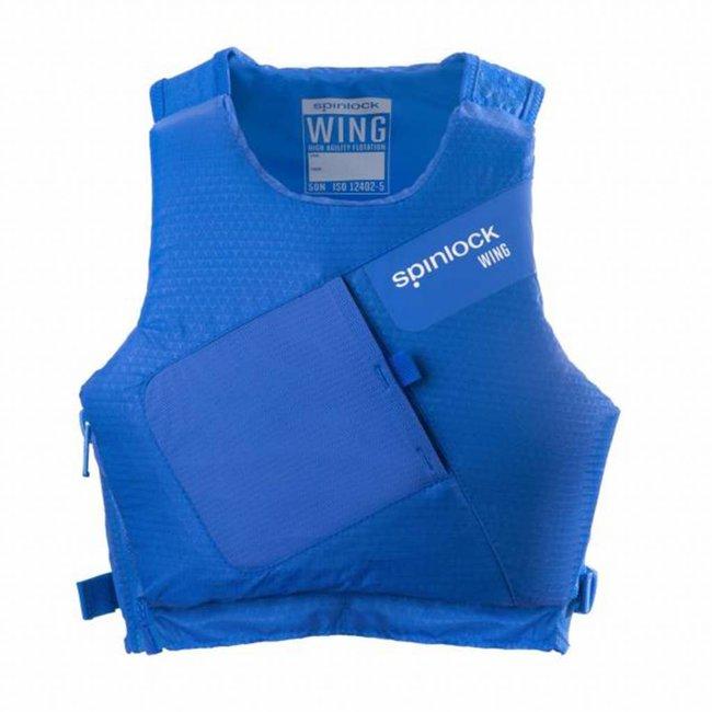 Spinlock Spinlock Wing PFD Buoyancy Aid Side Zip Cobalt Blue