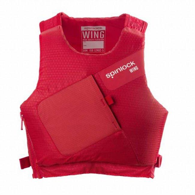 Spinlock Spinlock Wing PFD Buoyancy Aid Side Zip Red