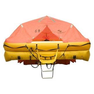 Ocean Safety Ocean Safety 6 Man Under 24hr ISO 9650-1 Ocean Life Raft