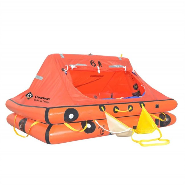 Crewsaver Crewsaver 6 Man Under 24hr ISO 9650-1 Ocean Life Raft