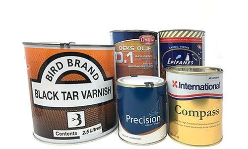 Varnishes & Wood Oils