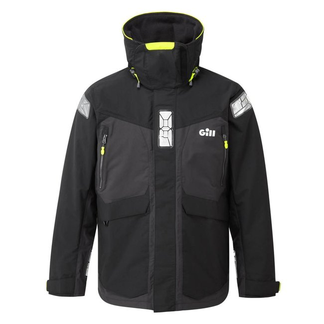 Gill Gill OS2 2021 Offshore Mens Jacket Black/Graphite