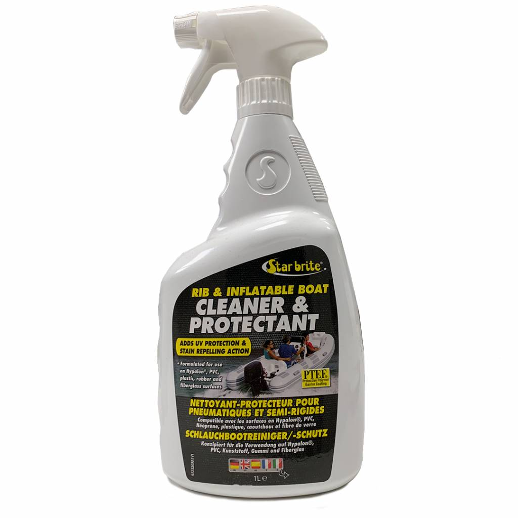 Starbrite Rib & Inflatable Boat Cleaner & Protector with PTEF 1L