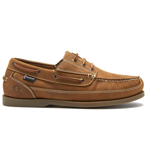 ddbefbf4 Chatham Rockwell II G2 Wide Fit Mens Deck Shoe Walnut - Pirates Cave ...