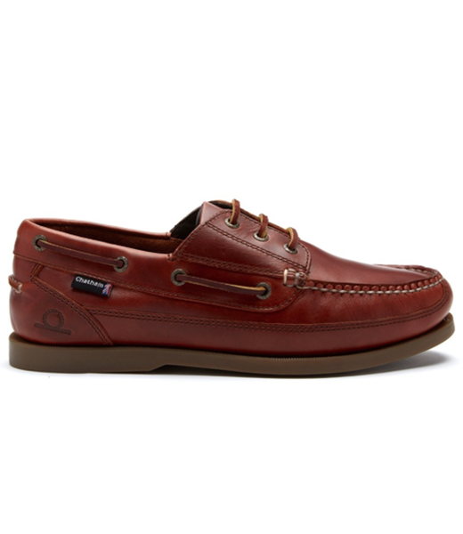 Chatham Chatham Rockwell II G2 Wide Fit Mens Deck Shoes Chestnut 2019