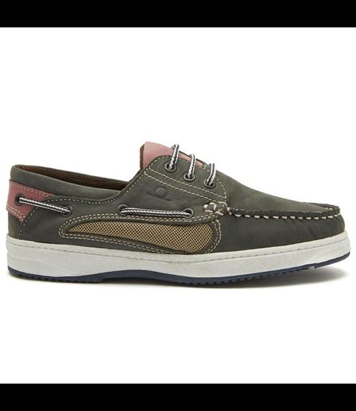 Chatham Chatham Panama Womens Deck Shoes Navy/Pink 2019