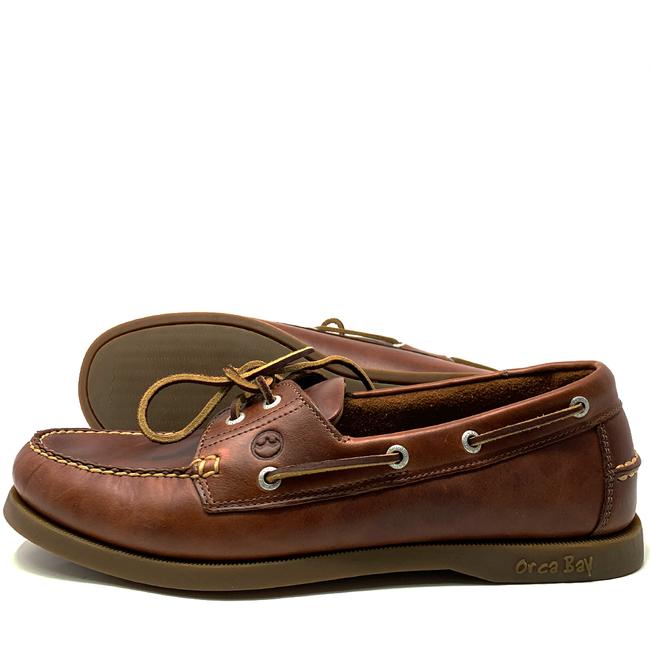 Orca Bay Orca Bay Creek Mens Deck Shoes Saddle 2020