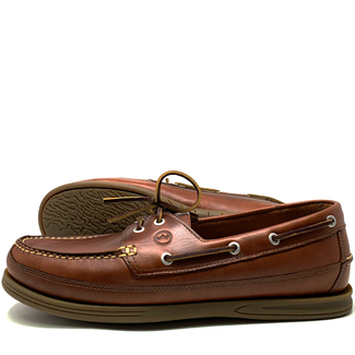 Orca Bay Orca Bay Fowey Mens Wide Fit Deck Shoes Saddle