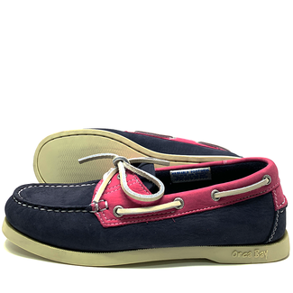 Orca Bay Orca Bay Sandusky Womens Deck Shoes Indigo/Fuschia 2020