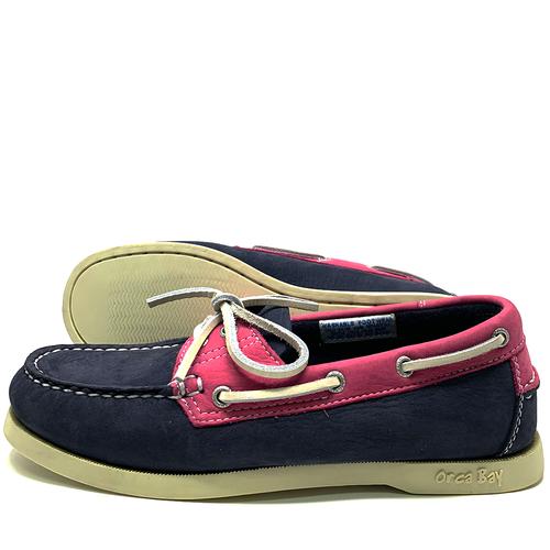 Orca Bay Orca Bay Sandusky Womens Deck Shoes Indigo/Fuschia