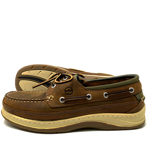 f13a8c1a5afea Orca Bay Squamish Sand Mens Deck Shoes - Pirates Cave Chandlery