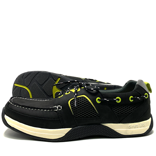 Orca Bay Orca Bay Wave Mens Deck Shoes Carbon/Yellow 2020