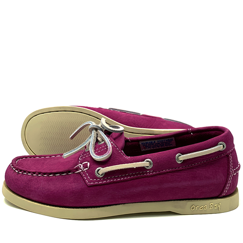 62e3247f7610c Orca Bay Sandusky Womens Deck Shoes Deep Pink - Pirates Cave Chandlery
